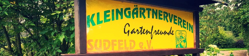 Kleingartenverein Gartenfreunde Sudfeld e.V. Hagen Halden